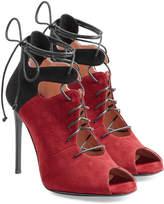 Roland Mouret Suede Stiletto Sandals