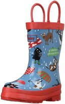 Hatley Raining Dogs Rain Boot (Inf/Yth) - Blue - 8 Toddler