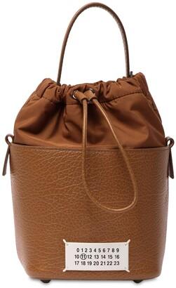 Maison Margiela Grained Leather Bucket Bag