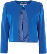Marella Cuffia short collarless jacket