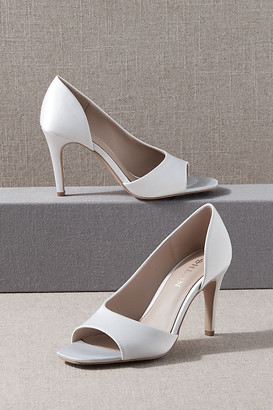BHLDN Terry Heels By in White Size 8