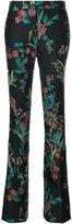 Giambattista Valli floral brocade trousers - women - Polyester/Acetate - 40