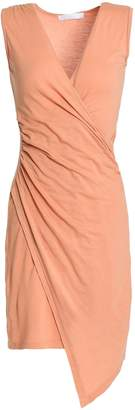 Kain Label Juno Wrap-effect Ruched Stretch-jersey Dress