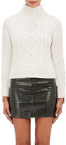 Rag & Bone Women's Button-Placket Knit Sweater-WHITE