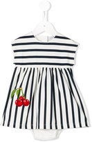 Dolce & Gabbana striped dress set - kids - Cotton/Spandex/Elastane - 9 mth