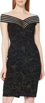 Thumbnail for your product : Gina Bacconi Women's Metallic Crepe Dress Cocktail
