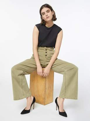 Frame Safari Wide Leg Trouser