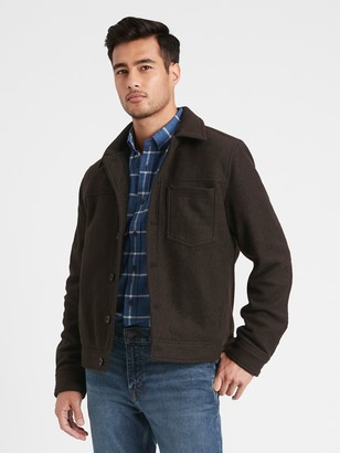 Banana Republic Wool-Blend Trucker Jacket
