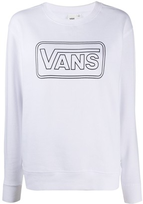 Vans Logo-Print Sweatshirt