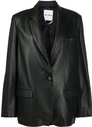 ATTICO Relaxed Leather Blazer
