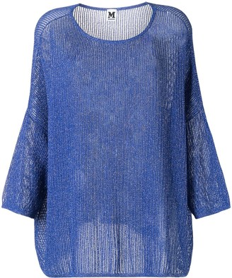 Missoni Pre-Owned Metallic Threading Sheer Top