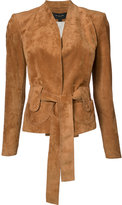 Derek Lam belted jacket - women - Calf Leather - 38