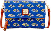 Dooney & Bourke NFL Ravens Foldover Crossbody