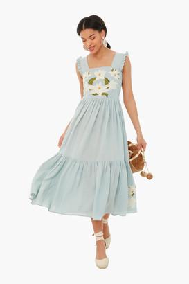 Carolina K. Sky Gray Kuna Dress