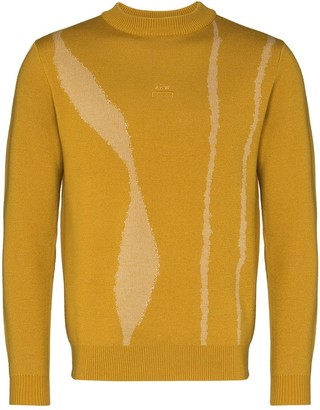 A-Cold-Wall* Knitted Pattern Detail Jumper