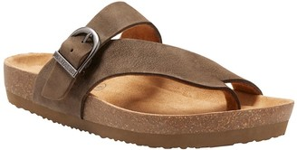 Eastland Leather Thong Sandals - Shauna