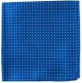The Tie Bar Mini Dots Royal Blue Pocket Square