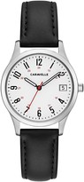 Bulova Caravelle by Women's Easy Reader Leather Watch