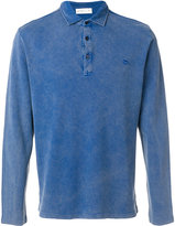 Etro longsleeved polo shirt