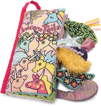 Jellycat 'Unicorn Tails' Book
