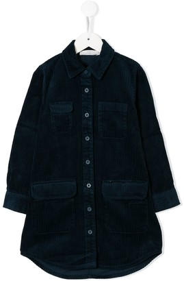 Stella McCartney corduroy shirt dress