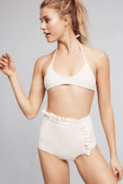 Made By Dawn Ruffled High-Waisted Swim Bikini Bikini Bottom