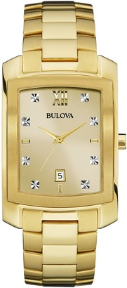 Bulova Men's Diamond Collection Bracelet Watch, 36.5mm - 0.02 ctw