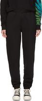 Marcelo Burlon County of Milan Black Genek Lounge Pants