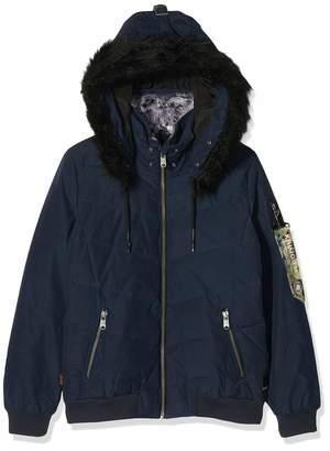 Khujo Women's ADELINDE Military Puffer Jacket