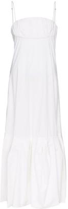 Rosie Assoulin tuck-detail tent dress
