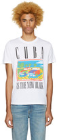 Diesel White T-Joe-Mf Cuba T-Shirt