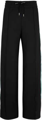 Off-White Off White Black Striped Neoprene Sweatpants
