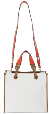 Sondra Roberts Structured Colorblocked Tote