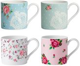Royal Albert Modern Floral 4-pc. Mug Set