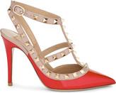 Valentino Rockstud 100 patent-leather courts