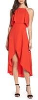 Elizabeth Crosby Stella High/Low Popover Dress