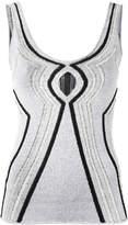 Proenza Schouler cutout knitted vest top