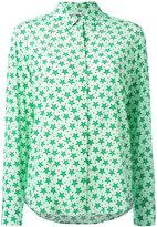 P.A.R.O.S.H. star print shirt - women - Silk/Spandex/Elastane - M