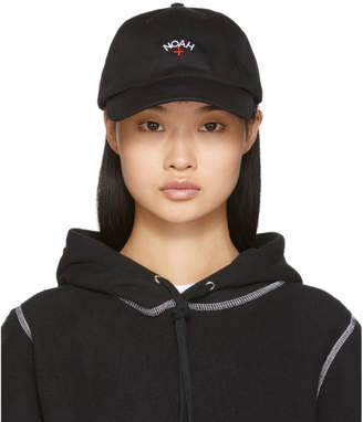 Noah NYC Black Core Logo Cap