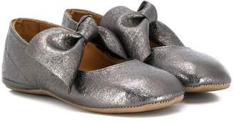 Pépé Kids bow-tie Mary Jane shoes