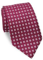 Charvet Large Pattern Silk Tie