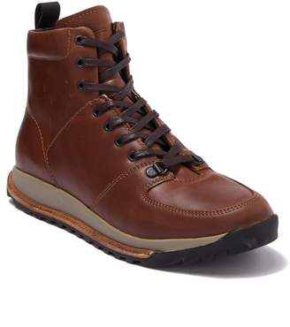 Hood Rubber Holliston Waterproof Leather Lace Up Boot