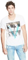 GUESS Graphic V-Neck Tee