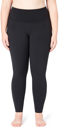Core 10 Build Your Own Yoga Full-length Legging Black (Size: 1X)