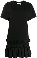 See by Chloe pleated hem T-shirt dress