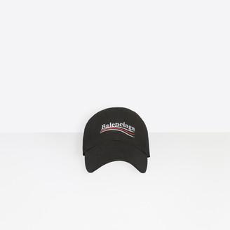 Balenciaga Classic baseball cap with political campaign embroidered logo