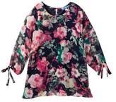 Truly Me Floral Print Dress (Big Girls)