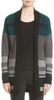 St. John Women's Engineered Inlay Stitch Knit Cardigan