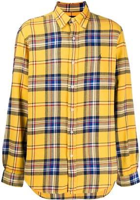 Ralph Lauren tartan checked shirt