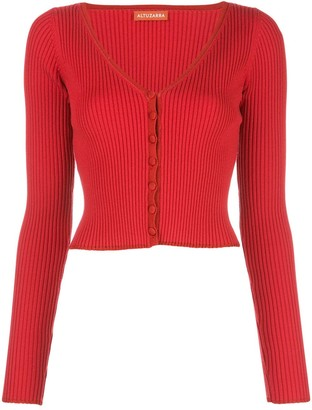 Altuzarra Eva button-up jumper